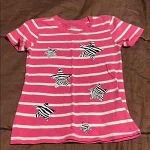 Toddler Girls Pullover Tee. EUC